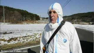 High Radiation outside Evacuation Zones. SAYS TO EVACUATE Fukushima Japan