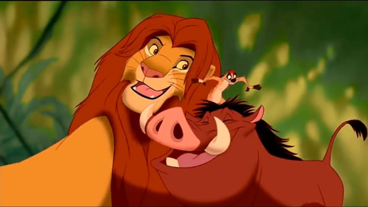 Le roi lion hakuna matata hd youtube