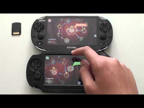 PS VITA Game Cartridge Vs Memory Card Speed Test