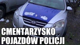 Cmentarzysko pojazdów policyjnych w Białymstoku