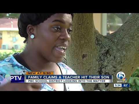 Family claims Bear Lakes Middle School teacher hit their son