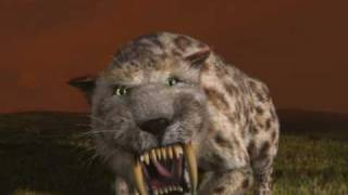 smilodon , saber-toothed cat