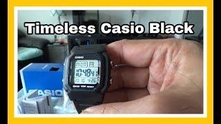 Casio Men's Classic Black Digital Sport Watch | Unboxing & Review
