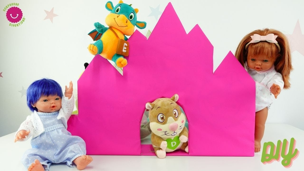 ¿Cómo hacer un castillo de cartón para jugar? Los Nadurines reciclan sus juguetes