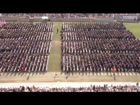 2015 Commencement: Enter Sandman - Virginia Tech