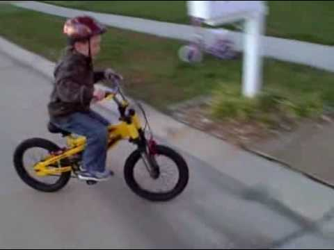Coop Riding His 16 Hummer Bike Youtube