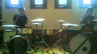 Marco Steffiano & Enrico Octaviano - Drum Cover ( Paramore - Fast In My Car )
