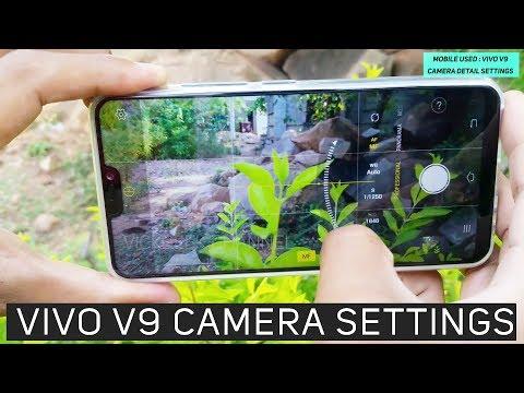 Vivo V9 Camera Settings | How to use PRO mode - YouTube
