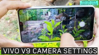 Vivo V9 Camera Settings | How to use PRO mode