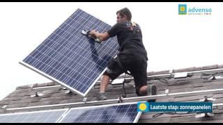 Advenso - Zo verloopt de installatie van zonnepanelen