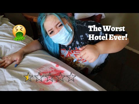 Staying at the WORST REVIEWED HOTEL In My City (LESS THAN 1 STAR)