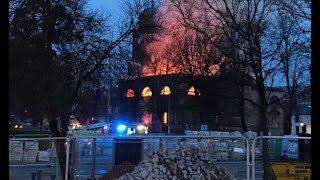 Blackburn fire: Town's oldest church gutted by blaze near city centre shops.