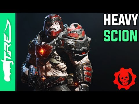 "Gears of War 4 Multiplayer Gameplay - ""Heavy Scion"" Character Gameplay (GOW4 Heavy Scion)"