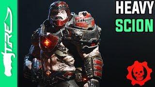 "Gears of War 4 Multiplayer Gameplay - ""Heavy Scion"" Character Gameplay (GOW4 Heavy Scion)"