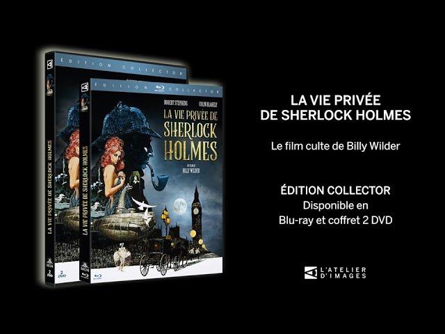 La Vie privée de Sherlock Holmes_Bande-annonce