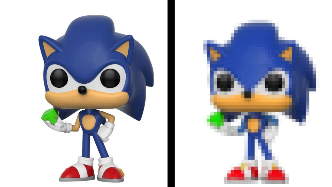 Raregalaxy5 I Made A Movie Sonic Funko Pop On Picsart Looks Real Youtube
