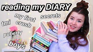 Reading my old DIARY | exposing myself...