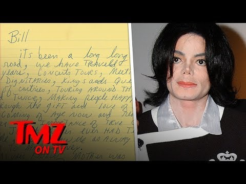 Michael Jackson Letter Thanking Security for 'Being a Father' Hits Auction | TMZ TV Mp3
