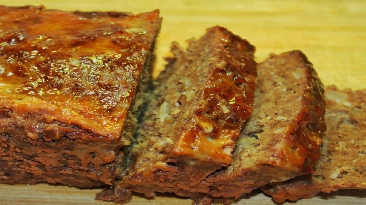 طريقة عمل قالب اللحمة المفرومة في الفرن - قالب الكفتة - رغيف اللحم