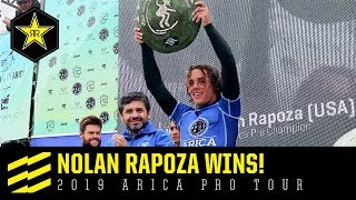 Nolan Rapoza wins! | 2019 Arica Pro Tour