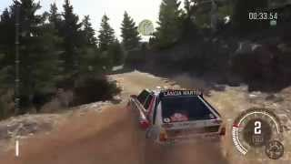 DiRT Rally - Lancia Delta S4 Martini - Perasma Platani - Gameplay