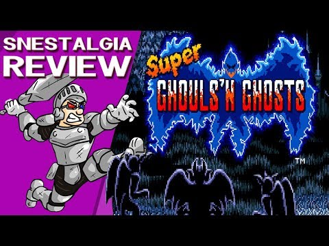 SnesTalgia Super Ghouls'n Ghosts ???? A Fúria do Capiroto ????