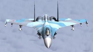 Российский многоцелевой истребитель четвёртого поколения СУ   27