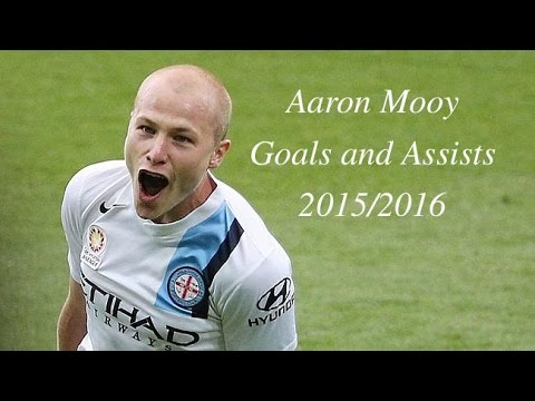 Aaron Mooy Melbourne City Goals and Assits 2015/2016