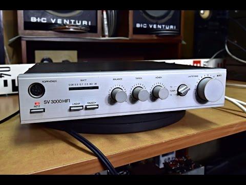 RFT SV 3000 HIFI Stereo Verstärker - Amplifier