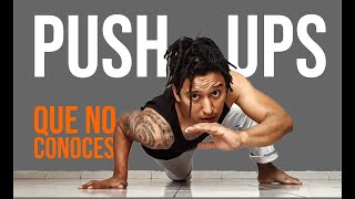 Baixar 🔥15 Variaciones de PUSH UPS que seguramente NO CONOCES // Entrenamiento de fuerza en casa💪🏠