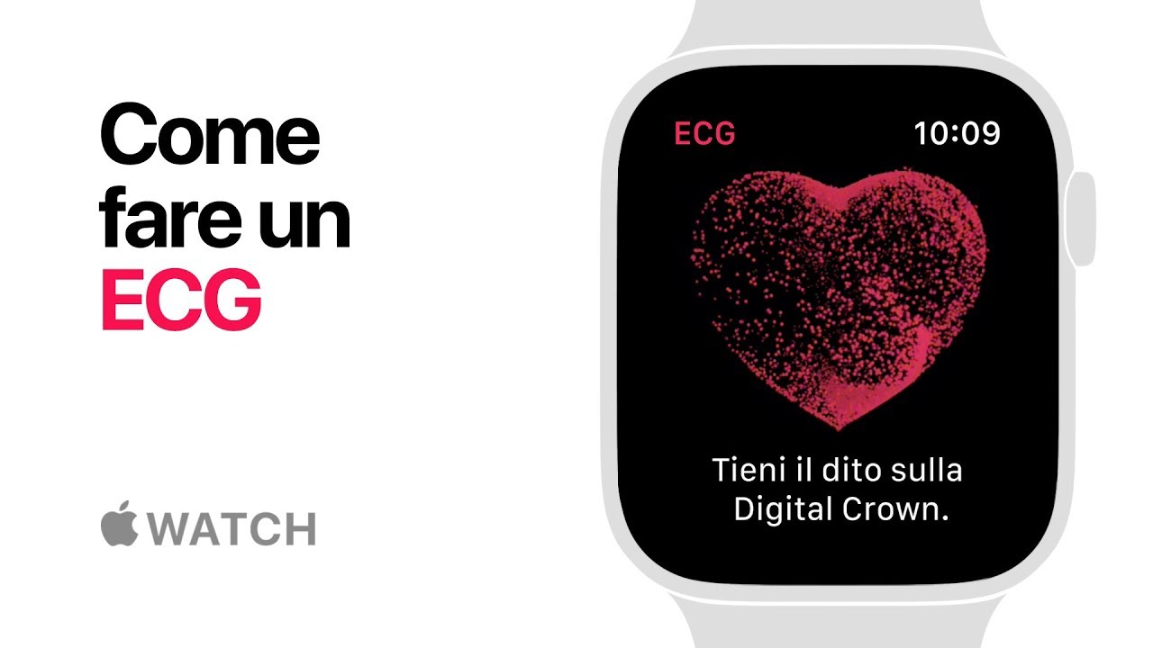 Apple Watch Series 4 Come Fare Un Ecg Apple Youtube
