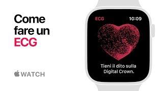 Apple Watch Series 4 — Come fare un ECG — Apple