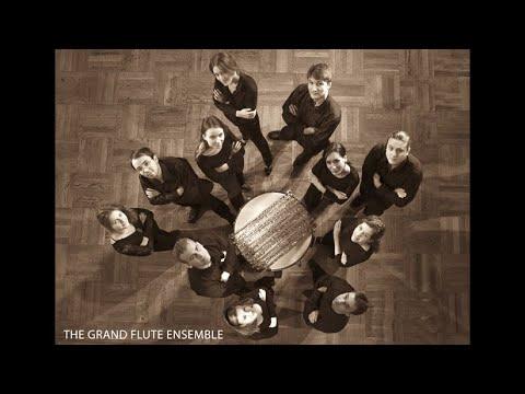 """The Grand Flute Ensemble - С. Райх """"Vermont Counterpoint"""" для одиннадцати флейт (1982)"""