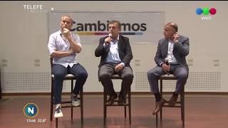 CAMBIEMOS, PRESENTARON LA FÓRMULA NEGRI, BALDASSI Y JUEZ