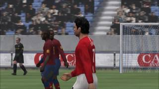 Pro Evolution Soccer 2009 PSP Gameplay HD