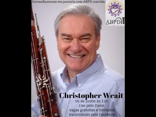 Live com o professor Cristopher Weait