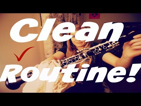 My Clarinet Cleaning Routine
