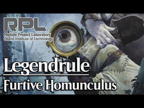LEGENDRULE - Creatures turned into Legends! - #21: Furtive Homunculus - Magic: The Gathering