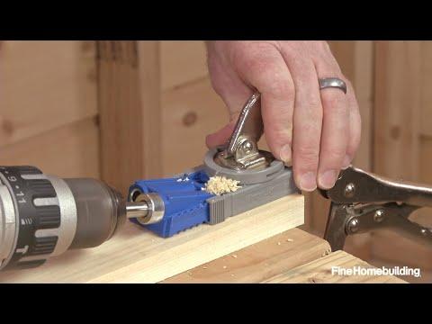 How to Use a Pocket-Hole Jig