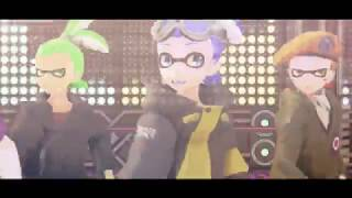 『MMD Splatoon』 Satisfaction 『CoroCoro Inklings Models Test』