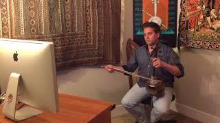 IMAMYAR HASANOV - World Wide Kamancha Classes San Francisco, California to Ganja, Azerbaijan