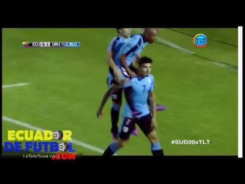 Relato Ecuatoriano Ecuador 1-2 Uruguay | Sudamericano Sub 20 2017