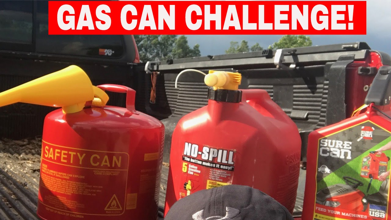 Best Gas Can >> Gas Cans Comparison 2017 What One Is Best Youtube