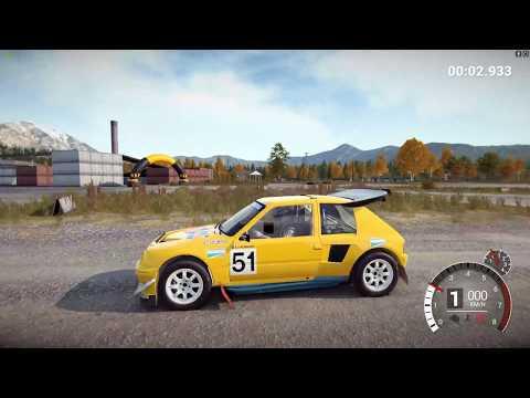 DiRT 4 - Peugeot 205 T16 Rallycross 1990 - Free Roam - Rallycross - Group B - Crash Test