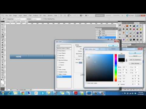 Create web navigation with photoshop quick and easy tutorial