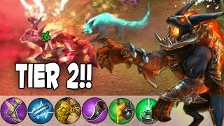 Netherworld Fortress Tier 2 Skin! | Vainglory NEW Fortress Tier 2 Gameplay!
