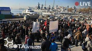 СРОЧНО! ВЛАДИВОСТОК ВЫХОДИТ в поддержку Хабаровска. 9 января полгода с момента ареста Фургала