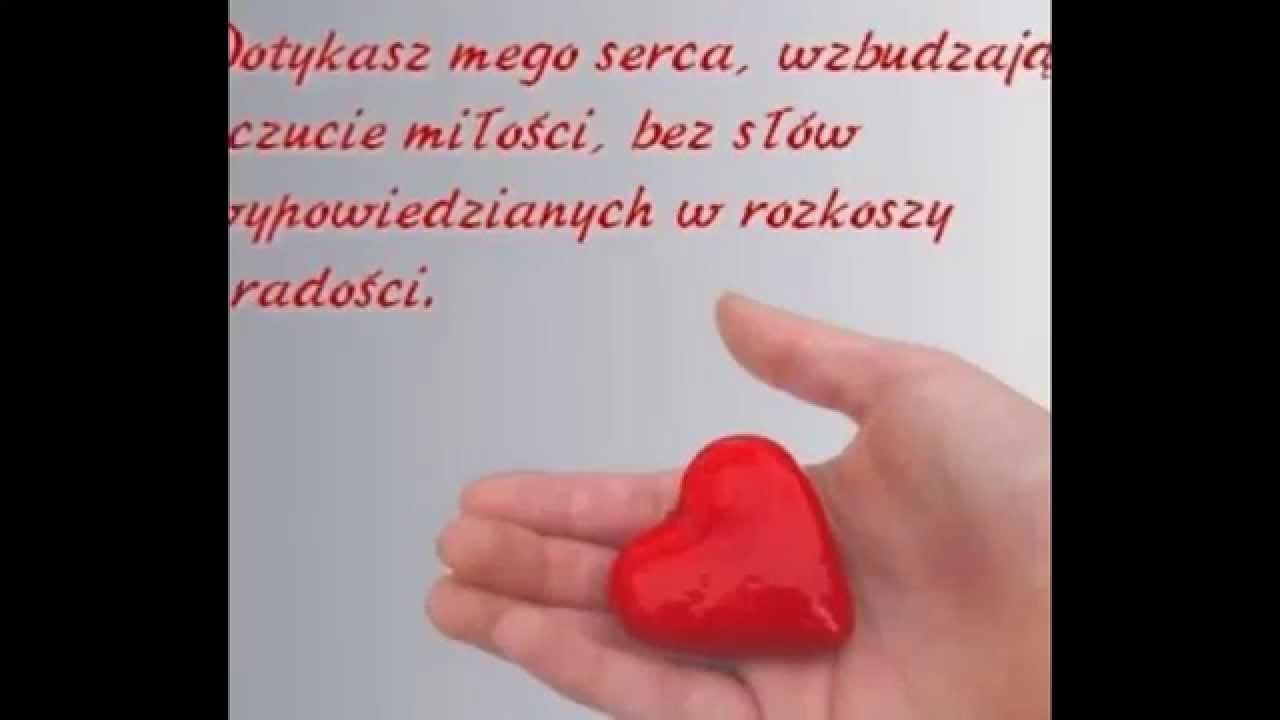 Miłosne Wiersze Dla Zakochanych Youtube