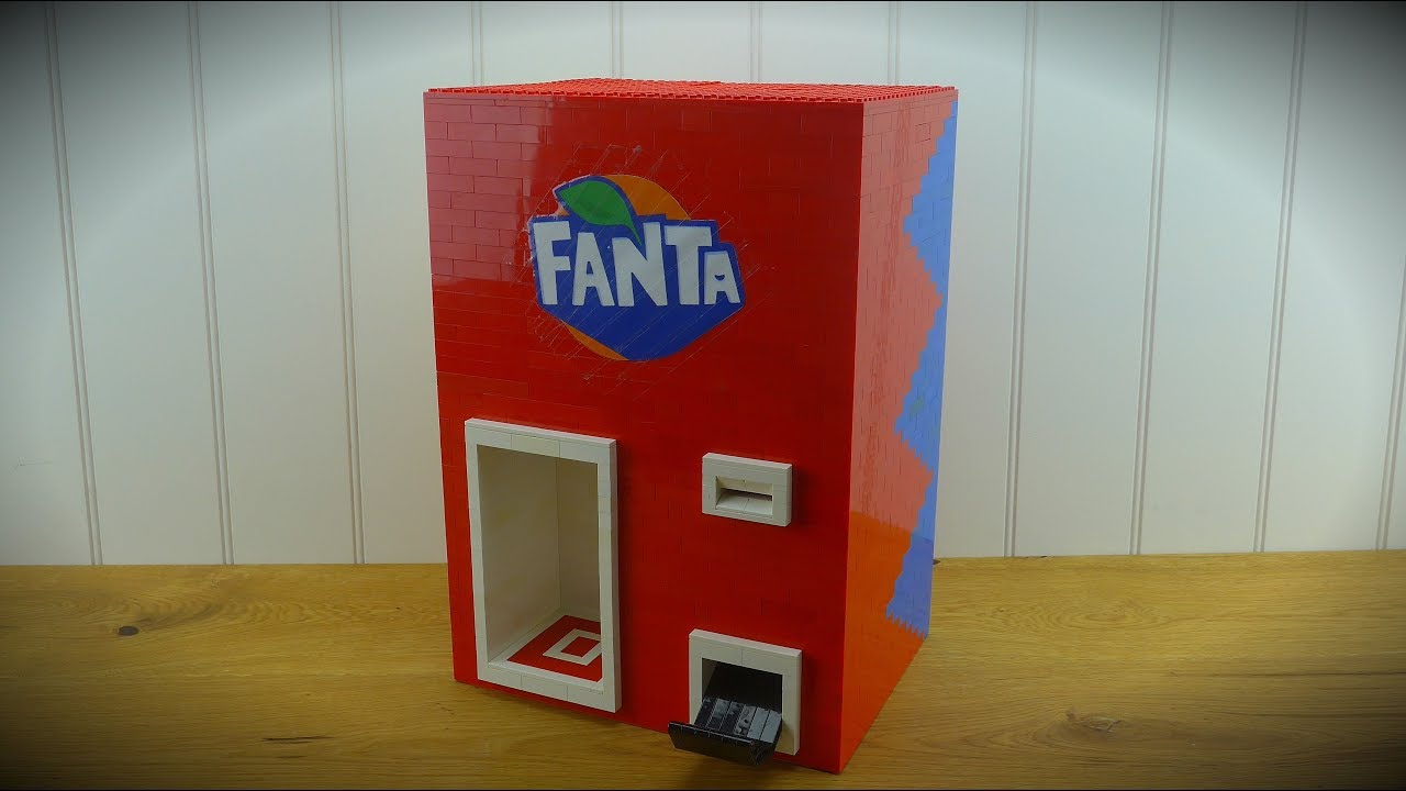 LEGO liquid Fanta Machine