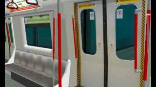 [OpenBVE] K-Train on Island Line (Causeway Bay to Quarry Bay)